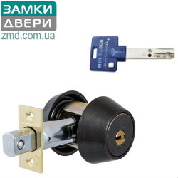 MUL-T-LOCK Dead_Bolt HERCULAR Antique_Bronze, INTERACTIVE+ 3KEY