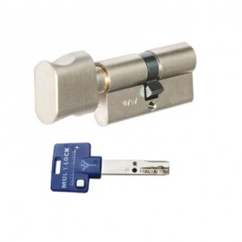 Цилиндр Mul-t-lock Interactive+ 80 (35х45Т) никель сатин