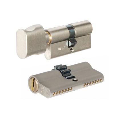 Цилиндр Mul-t-lock 7х7 80 (35x45T) никель сатин