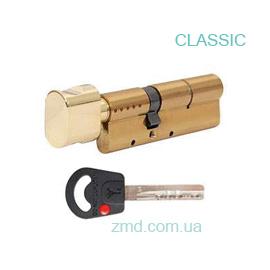 Цилиндр Mul-t-lock Classic 110 (55x55)T, тумблер, латунь, 3 кл.