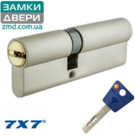Цилиндр Mul-t-lock 7х7 66 (31x35), сатин никель