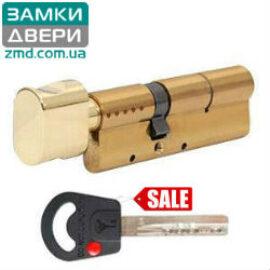 Цилиндр Mul-t-lock Classic 105 (70x35)T, тумблер, латунь, 3 кл.