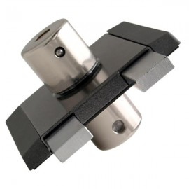 Накладной замок Gerda Tytan ZK (графитовый), ключ-ключ, 4кл.
