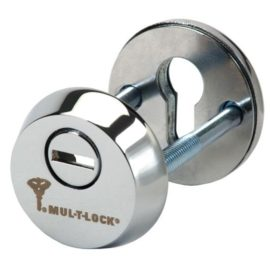 Протектор цилиндра ESETY by Mul-t-lock SL3 хром никель