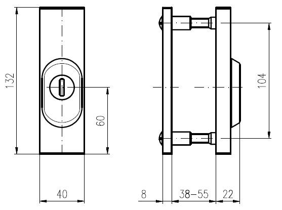 Набор Rostex R3, 40-45мм, титан