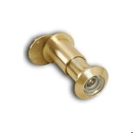 Дверной глазок L180CP 85-120 SB мат.латунь