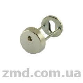 Протектор Abloy CH101 сатин хром, толщина 12.5мм, 40-80мм, под ключ Protec, Novel