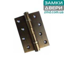 Петля стальная, Elephant 100 мм, BМ матовая бронза