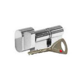Цилиндр Abloy Protec 2 323N 82 (36x46)Т, тумблер, хром, 3 ключа