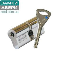 Цилиндр Abloy Protec 2 322N 72 (36x36) хром, 3кл