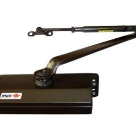 Доводчик Cisa 60450.04.0.88 до 80 кг, коричневый