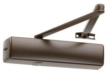 Доводчик Abloy DC 335 (BC) F коричневый, класс 3-5, - 1250 мм, 100 кг, без тяги