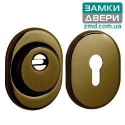 Броненакладка DISEC_SFERIK_BDS16_DIN_OVAL 25мм, AB ,бронза
