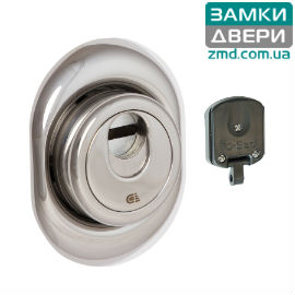 Протектор DISEC *MAGNETIC 3G2FM DIN OVAL 25мм Хром_пол. 3класс, 3кл