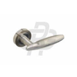 Ручки на розетке FERRUM Fe - Z2 SN/CP, сатин никель