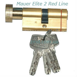 Цилиндры Mauer Elit2 Red Line ключ-тумблер