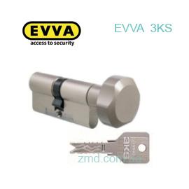 Цилиндр EVVA 3KS КZ 92 (51x41) ТNI, тумблер, 5кл