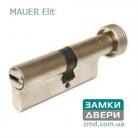Цилиндр Mauer Elite 97 (41x56) T Ni, 5 ключей, под тумблер, никель