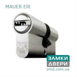 Цилиндр Mauer Elite 62(31x31)Ni, 5 ключей, никель