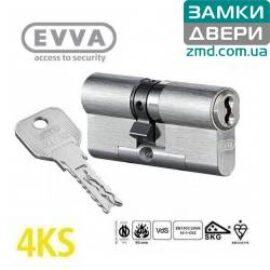 Цилиндр EVVA 4KS ключ-ключ