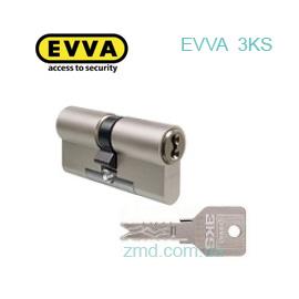 Цилиндр EVVA 3KS ключ-ключ