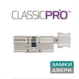Цилиндр Mul-t-lock Classic PRO120 (70x50)T, тумблер, никель, 3 кл.