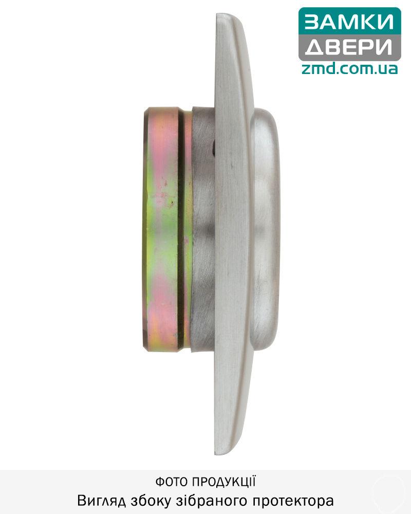 Протектор DISEC MAGNETIC MG355Q DIN SQUARE 25мм Хром_мат