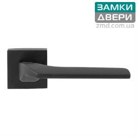 Ручка на квадратной розетке Fimet Corsa, матовый черный