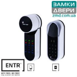 Электронный контролер MUL-T-LOCK ENTR white с Touchpad доступ по коду