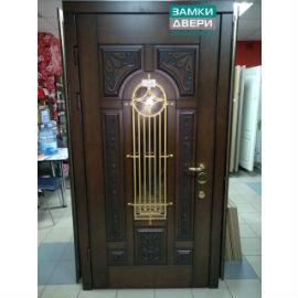 """Двери """"Новый Мир"""" РУСЬ дуб, 2070х970 левая"""