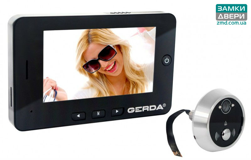 Видеоглазок GERDA HD-43