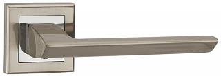 Ручка на розетке BLADE QL SN-CP-3 матовый никель-хром