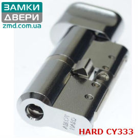 Цилиндр Abloy Protec2 333N 203 (102x101)Т, тумблер, закаленный, хром, 3 ключа