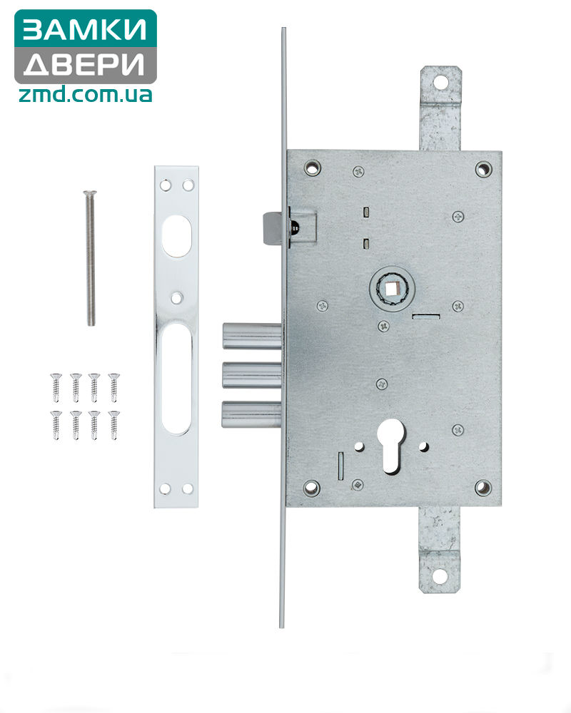 Замок Mul-t-lock 3-WAY DIN 352R NC UNIV BS65мм 85мм SP