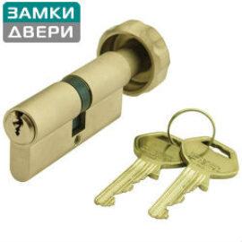 Цилиндр GEGE pExtra 80,5 (45 x 35,5Т) Тумблер, ник. сатин, 3 Key