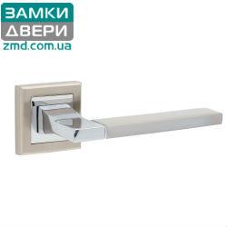 Ручки дверные HISAR AS 06 SN/CP, сатин хром
