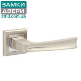 Ручки дверные HISAR AS 07 SN/CP, сатин хром