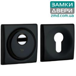 Броненакладка DISEC SFERIC_KUBO BD16 DIN SQUARE 25мм, черная