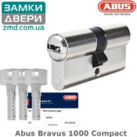 Цилиндр ABUS BRAVUS 1000 90 (40х50), никель,3 кл