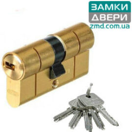 Цилиндр Abus D6PS 60 (30х30) латунь, 5 кл.