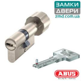 Цилиндр ABUS BRAVUS 1000 60 (30х30)T, никель, 3 кл.