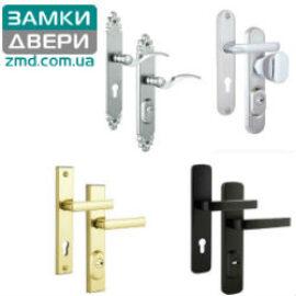 Ручки с защитой для входных дверей
