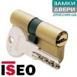 Цилиндр ISEO R6 60 (30x30) латунь сатин