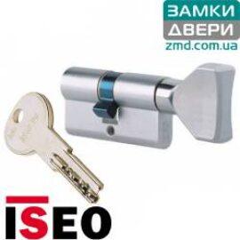 Цилиндр ISEO R6 70 (30x40Т) никель сатин