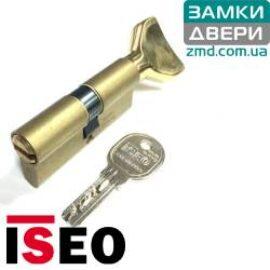 Цилиндр ISEO R6 80 (35x45Т) латунь сатин