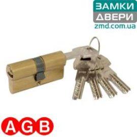 Цилиндр AGB scudo 5000 60 (27x33) латунь, 5кл