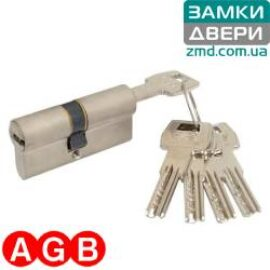 Цилиндр AGB scudo 5000 60 (27x33) никель, 5кл