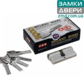 Цилиндры AGB scudo 5000 ключ-ключ