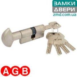 Цилиндр AGB scudo 5000 100 (50x50T) никель, 5кл