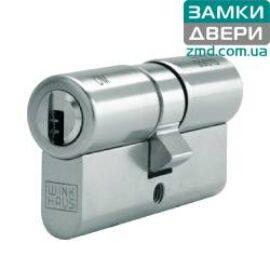 Цилиндр Winkhaus keyTec X-TRA 120 (60х60) никель, 3кл